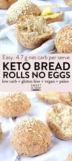 KETO BREAD ROLLS  1/2 psyllium 1/2 flax 1 1/2 tbs ACV Coconut oil  Cinnamon  No coconut flour + extra almond flour  No baking powder