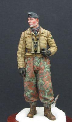 Figures: German tank officer, photo #1