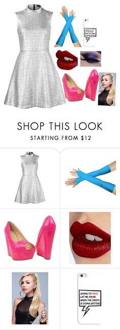 """Lucy Martin: Mars Attacks!"" by potterpuffgirl ❤ liked on Polyvore featuring Markus Lupfer, Charlotte Tilbury and Casetify"
