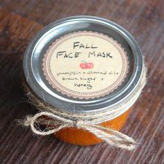 DIY Homemade Pumpkin Face Mask Recipe