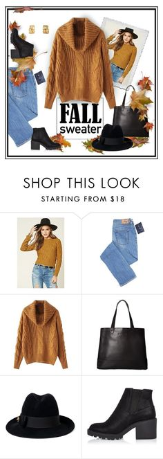 """""""Crisp Weather Warm"""" by patricia-dimmick on Polyvore featuring Forever 21, SOREL, Gucci, River Island, sweaters, knit and fallsweaters"""