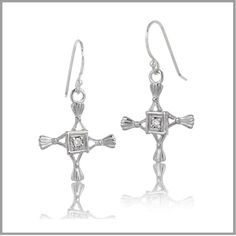 St. Brigid's Cross Earrings