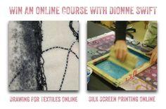 Win a Dionne Swift online textiles course