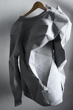 Check out these gorgeous renderings of #shirts made from a #3D printer. Aren't they cool? #fashion