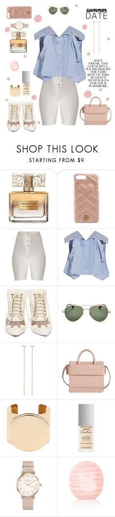 """""""Subtle Statements"""" by cbmalloy ❤ liked on Polyvore featuring Folio, Givenchy, Gucci, Y/Project, Chan Luu, ROSEFIELD, Eos and Deborah Lippmann"""