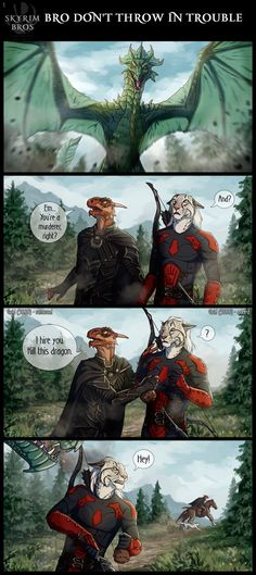 Prev | Next Third page of comic! I'm starting to like to draw comics And this time we have a guest Dar'Bars of Soltia ! Russian version: Anhat (c) Azany Mani Grabis (c) my frien...