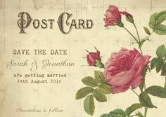 Printable save the date vintage Save the by OurFriendsEclectic