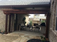 Cedar pergola Cedar Pergola, Landscaping Company, Arbors, Landscape, Outdoor Decor, Home Decor, Courtyards, Scenery, Decoration Home