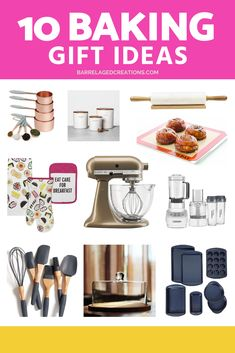 The best gifts for bakers.  #baking #giftideas #giftguide #cooking #kitchen @barrelagedcreations #bake #foodie #baker #food #dessert #cake #cookies #pastry #cupcakes #bread #kitchengifts #cookinggifts #giftsforher #giftsforhim #pie Novelty Gifts For Men, Cool Gifts For Women, Gourmet Food Gifts, Gourmet Food Store, Cake Stand With Dome, Kitchen Gifts, Kitchen Stuff, Coffee Wine, Christmas Gifts For Men