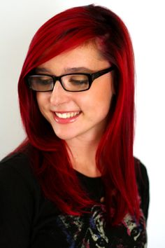 RR + RV Elumen Goldwell color #hair #redhair