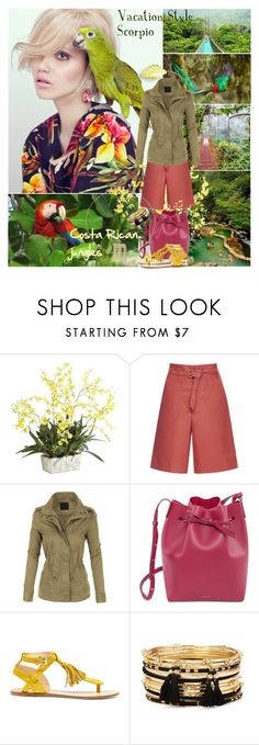 """""""Vacation Style: Scorpio"""" by wutheringheights55 ❤ liked on Polyvore featuring Ethan Allen, Isabel Marant, LE3NO, Mansur Gavriel, Sole Society, Forever 21, Latelita, scorpio and stylehoroscope"""