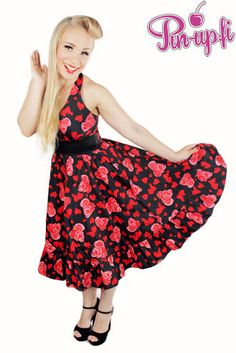 Hearts & Roses -Valentine dress!