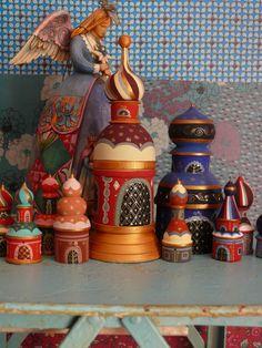 Russian woodwork.