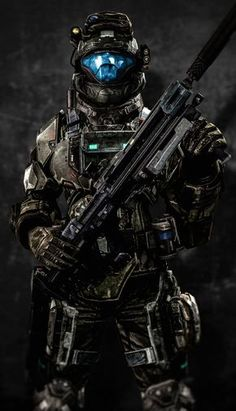 An Odst from Halo Halo Cosplay, Video Game Art, Video Games, Odst Halo, Halo 2, Halo Armor, Halo Spartan Armor, Space Opera, Halo Series