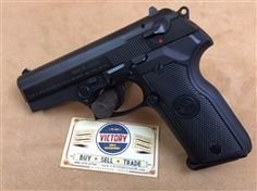 """Here is one of our excellent pre-owned pistols. This pistol comes with one 10 round capacity magazine, original carrying case with missing left and right flip latches, and cleaning brushes. This Stoeger Cougar 8000F features 9mm caliber, quick read 3dot sight, 7"""" overall length, Double/Single action and ambidextrous safety/decock lever. The finish on this pistol is in mint condition, an ideal investment for the new owner. @victoryggw #gun #guitar #texas"""