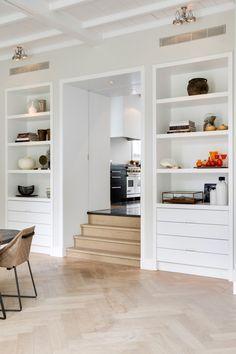 simple molding on built ins House Design, Living Room Interior, Home Decor Inspiration, House, Home, Interior Design Living Room, Interior, Home Deco, Home Decor