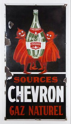 Advertising Signs, Tin Signs, Chevron, Minerals, Genre, Spa, Water, Vintage Posters, Stall Signs