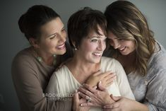 Adult mother-daughter photo shoot {Brooke Kelly Photography}