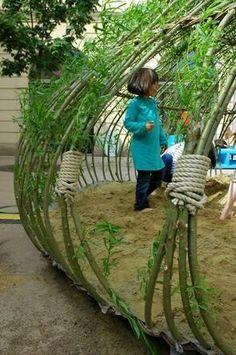 Out door play lot idea