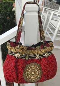 Carolina CarryAll Bag Pattern * . . . This color and trim combination makes it look like an expensive bag.