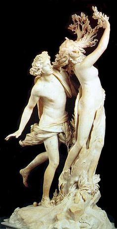 Bernini's Apollo & Daphne statue (Borghese) by Jayne Dough
