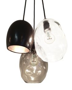 The Clay Collection- Porcelain USA Made Chandelier and Pendant Lighting Decor, Chandelier Pendant Lights, Hand Blown Glass, Pendant Chandelier, Modern Chandelier, Organic Glass, Glass, Chandelier, Glass Lighting