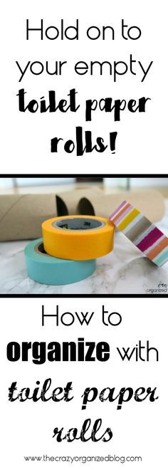 Organize your extension cords with toilet paper rolls!