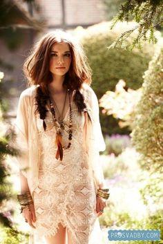 Bridal hippie