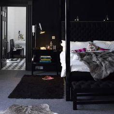 Roundup: Dark Bedrooms