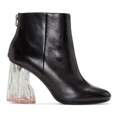 Acne Studios | Black Ora Glass Boots