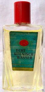 Miniflacons-Puderdosen - 4711 Echt Kölnisch Wasser