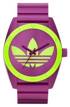 adidas Originals 'Santiago' Polyurethane Strap Watch available at #Nordstrom