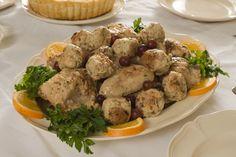 Chicken prepared the 18th Century French way!