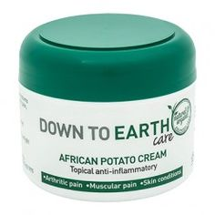 This healing cream harnesses the medicinal power of the African potato, to treat pains, sprains & skin conditions. Psoriasis Treatment Cream, Psoriasis Cure, Psoriasis Remedies, Sleep Apnea Solutions, Cuts And Bruises, Sun Damaged Skin, Health Shop, Potatoes, Arthritis