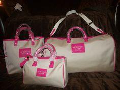 victoria's secret luggage sets   Victoria Secret...   Pinterest ...