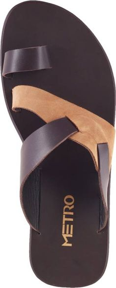 337ba6280ffd Metro Men Brown Sandals - Buy 12