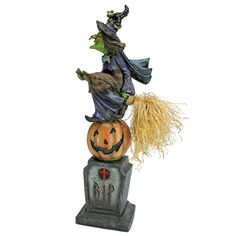 The Witches Midnight Halloween Ride Statue
