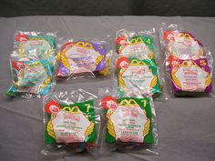 Set of 9 Peter Pan McDonalds Happy Meal Toys New Collector's Item | eBay