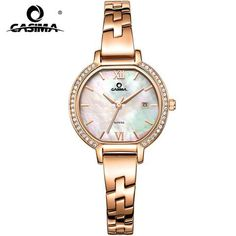 74b24c45148 2018 CASIMA Luxury Brand Women Bracelet Watches Montre Femme Fashion Casual  Ladies Quartz Watch Relojes Mujer