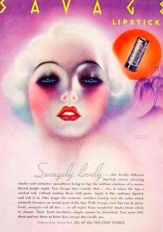 Savage Lipstick Ad