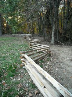 Split rail fence idea for low front yard fence. Description from pinterest.com. I searched for this on bing.com/images