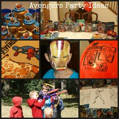 Avengers Party Ideas - Trin would love this