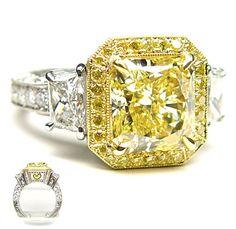 Rosamaria G Frangini | High Yellow Jewellery | Yellow Diamonds