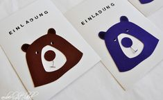 5. Geburtstag Kindergeburtstag Einladungen Bären Kindergarten, Symbols, Letters, Party, Place Cards, Beautiful Things, Game, Kindergartens, Letter