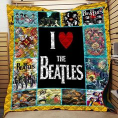 Fabric Art Quilt Block Classic Rock Cotton  BEAT237