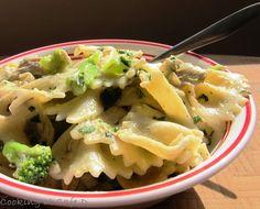 Chicken Broccoli Pasta (Skip the chicken for Meatless Mondays!)