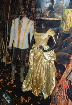 Cinderella and Prince Charming Into the Woods movie costumes