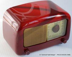 American Radio Design - Greg Mercurio - Deco-Mid Century & Retro Styled Vintage Tube Radios