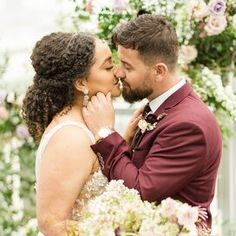amrta-leonard-wedding-couple-0521 Wedding Reception At Home, Wedding Ideas, Crepe Paper Flowers, Real Couples, California Wedding, Wedding Couples, Personalized Wedding, Ethereal, Garden Wedding