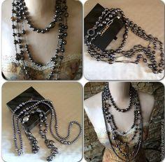 Купить Бусы много рядные из жемчуга Майорика - украшения из жемчуга, ожерелье из жемчуга, жемчужное колье